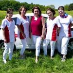 Pflegedienst auf der Wiese in Pesterwitz